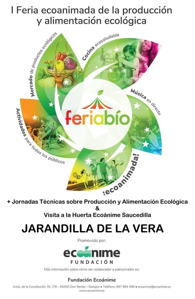1ª Feria ECOANIMADA de la Producción y Alimentación Ecológica