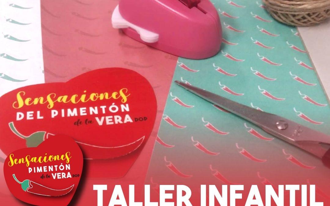 TALLER INFANTIL: Encuadernación Scrap