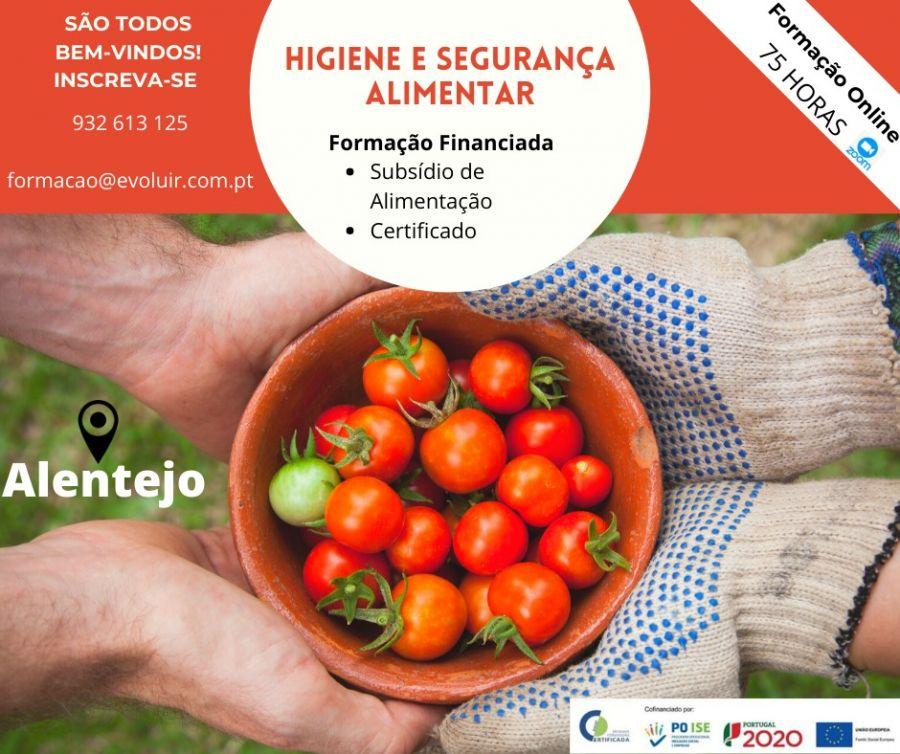 Formação Gratuita de Higiene e Segurança Alimentar