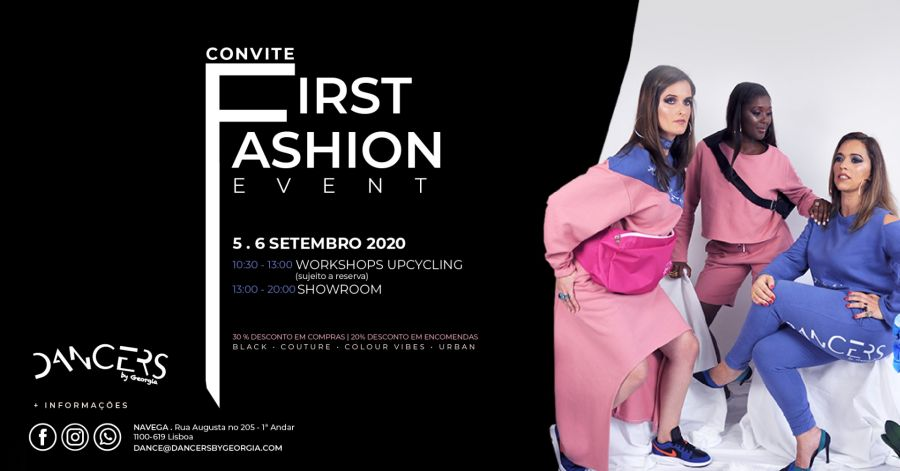 First Fashion Event - Workshop de Upcycling Gratuito