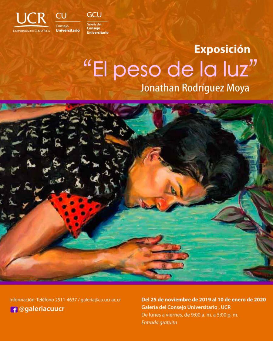 El peso de la luz. Jonathan Rodríguez. Pintura
