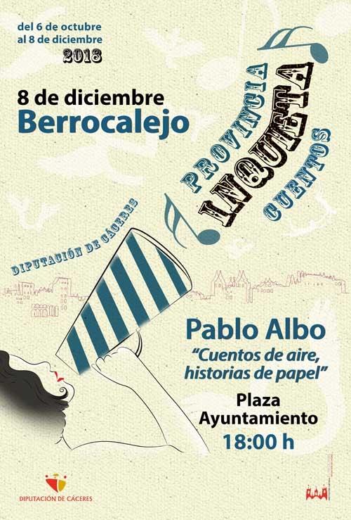 Provincia inquieta | CUENTACUENTOS: Pablo Albo