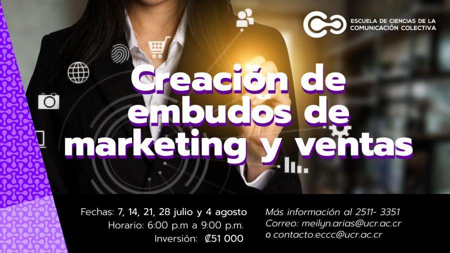 CURSO. Creación de embudos de marketing y ventas