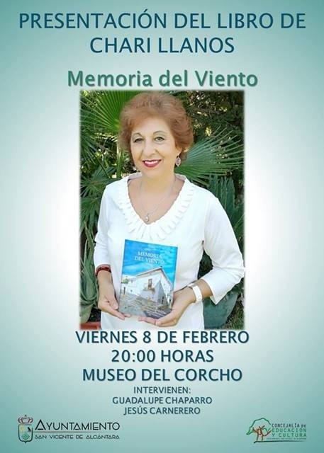 Presentación «Memoria del viento», de Chari Llanos || Museo del Corcho