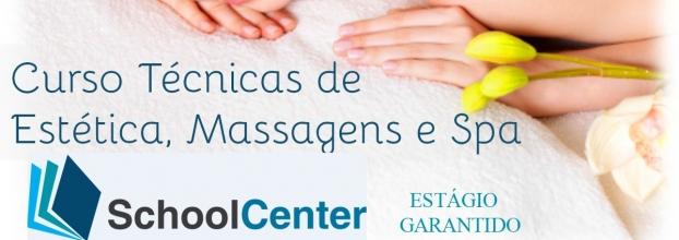 Curso Técnicas de Estética, Massagens e Spa