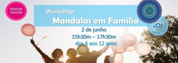 Workshop MANDALAS EM FAMÍLIA