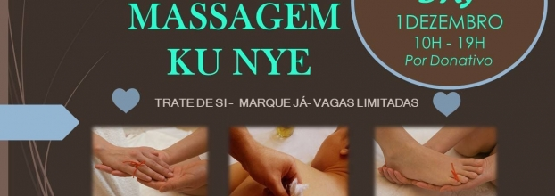 Open Day Massagem Ku Nye por Donativo Consciente