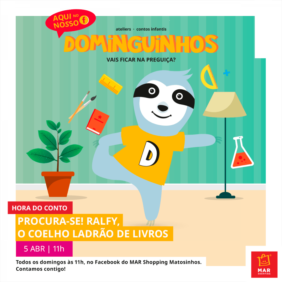 'Dominguinhos'- Eis o MAR Shopping Matosinhos online!