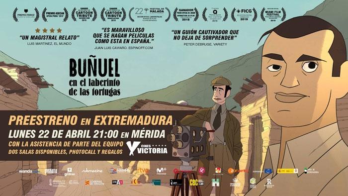 Buñuel en el Laberinto de las Tortugas | PREESTRENO EN MÉRIDA