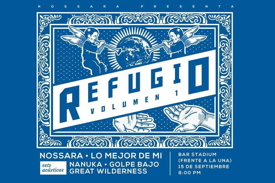Refugio vol.1. Varios artistas. Solistas y bandas, acústico y alternativo