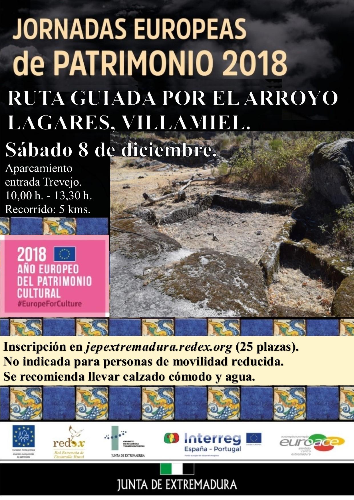 Visita guiada por el Arroyo de los Lagares (Villamiel)