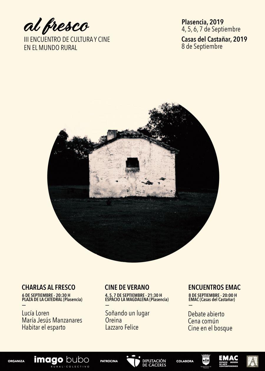 Charlas al fresco «Arte y materia prima» | Al fresco · III Encuentro de Cultura y Cine en el Mundo Rural