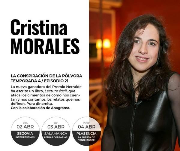 Cristina Morales en La Puerta de Tannhäuser