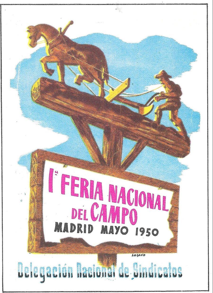 pieza del mes: medallas conmemorativas de la Feria Internacional Ganadera de Madrid
