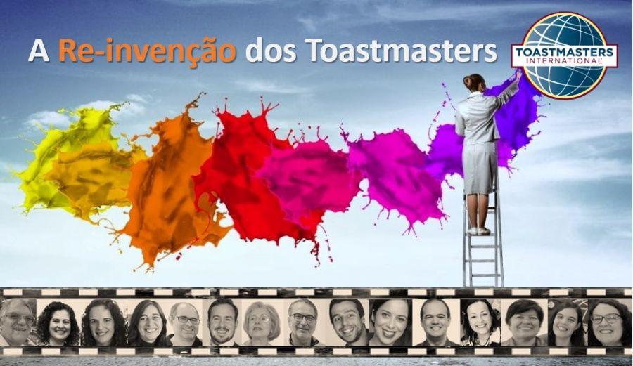 A Reinvenção dos Toastmasters - sessão online