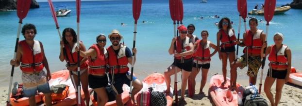 Descoberta das Falésias da Arrábida em Kayak