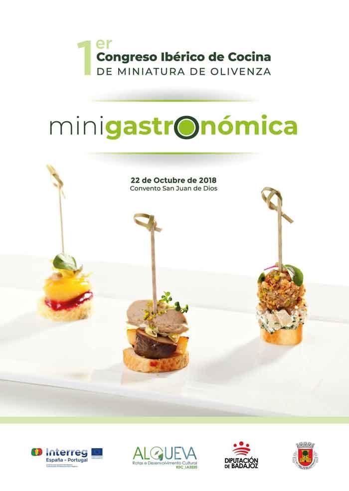 MINIGASTRONÓMICA | I Congreso ibérico de Cocina en Miniatura
