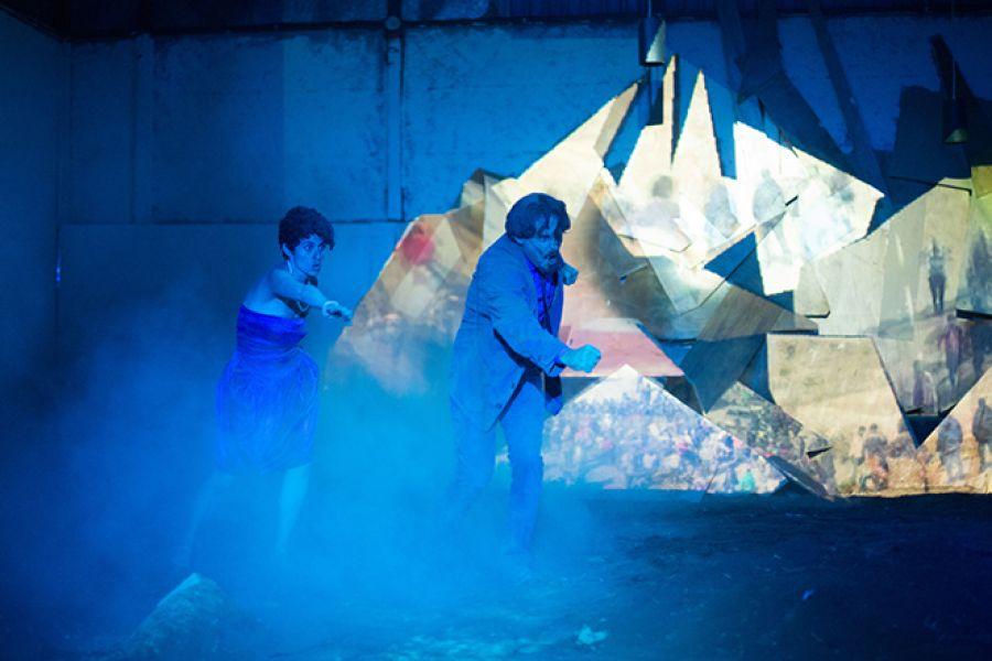 12 Encuentro Nacional de Teatro. Margen. Gabriel Araya y Natalia Boza