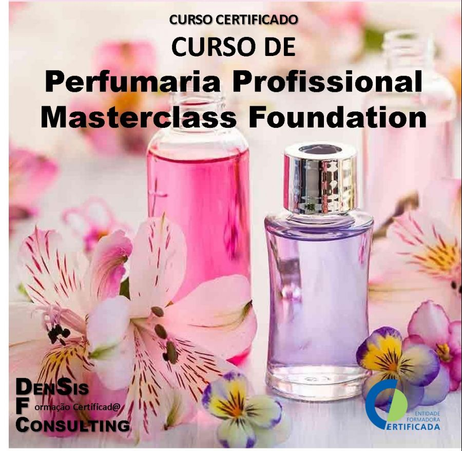 Curso de Perfumaria Profissional - Masterclass Foundation
