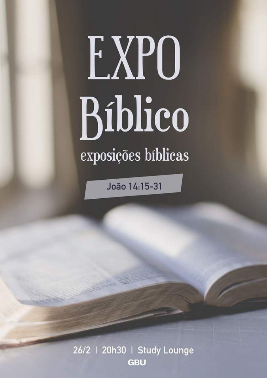 Plenária: Expo Bíblico - Exposições Bíblicas (João 14:15-31)