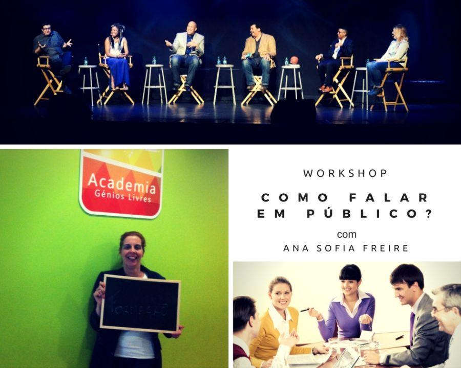 Workshop de Técnicas para Falar em Público