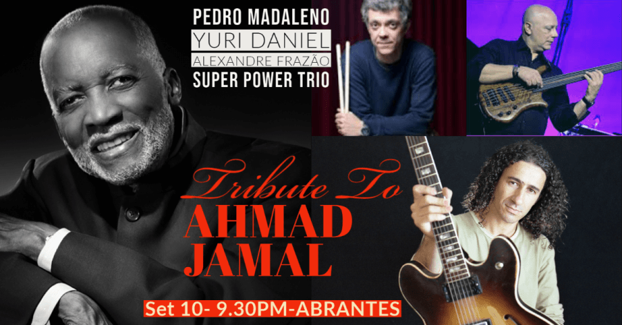 Concerto de Jazz - Trio Pedro Madaleno