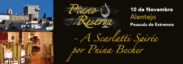 PIANO RESERVA - A Scarlatti Soirée por Pnina Becher