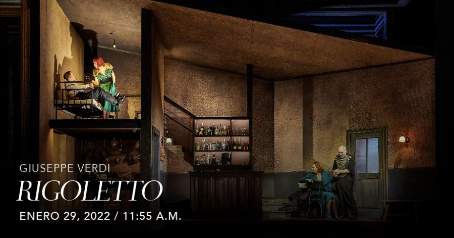 Rigoletto (Verdi). Met Live in HD