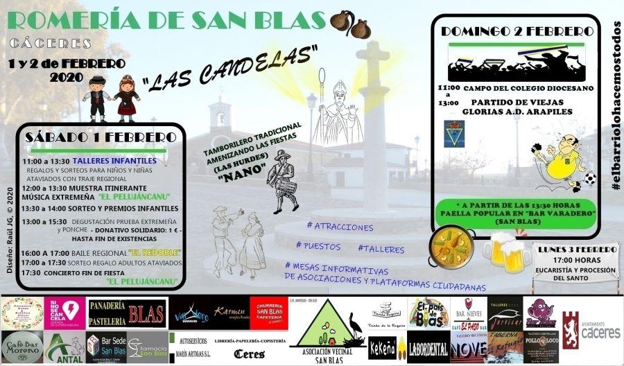 'Las Candelas 2020 - Romería de San Blas'