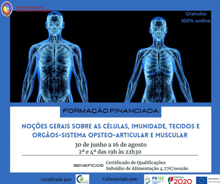 Noções gerais sobre células, imunidade, tecidos e órgãos - sistemas osteo-articular e muscular