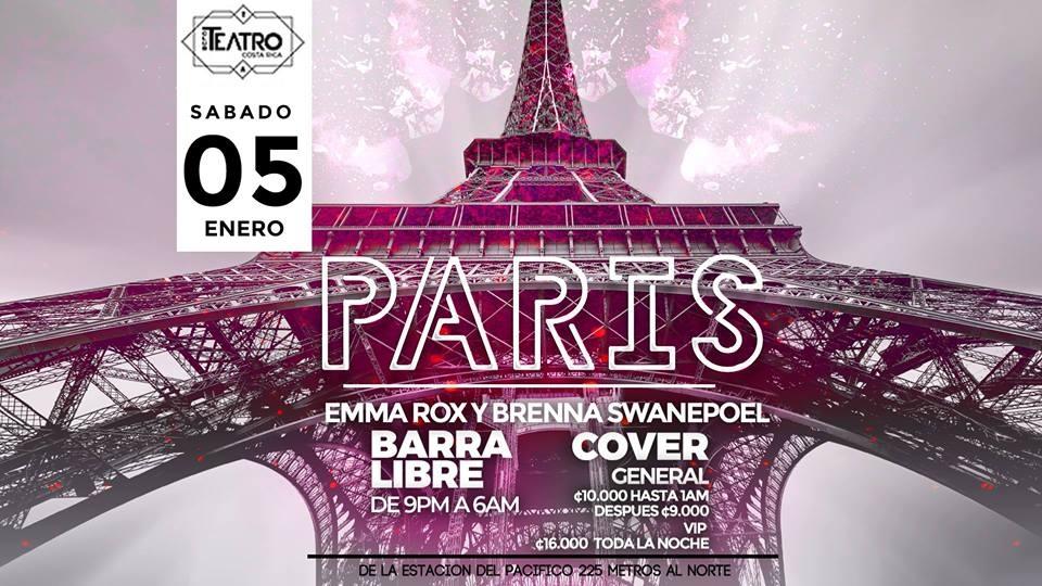 París. Emma Rox & Brenna Swanepoel. House y charanga Dj set