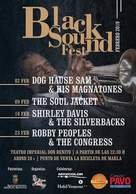 BLACK SOUND FEST || Teatro Imperial Don Benito