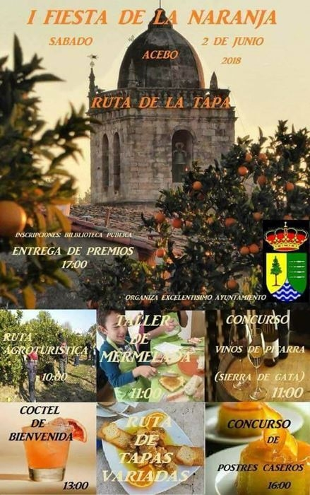 Fiesta de la Naranja en Acebo