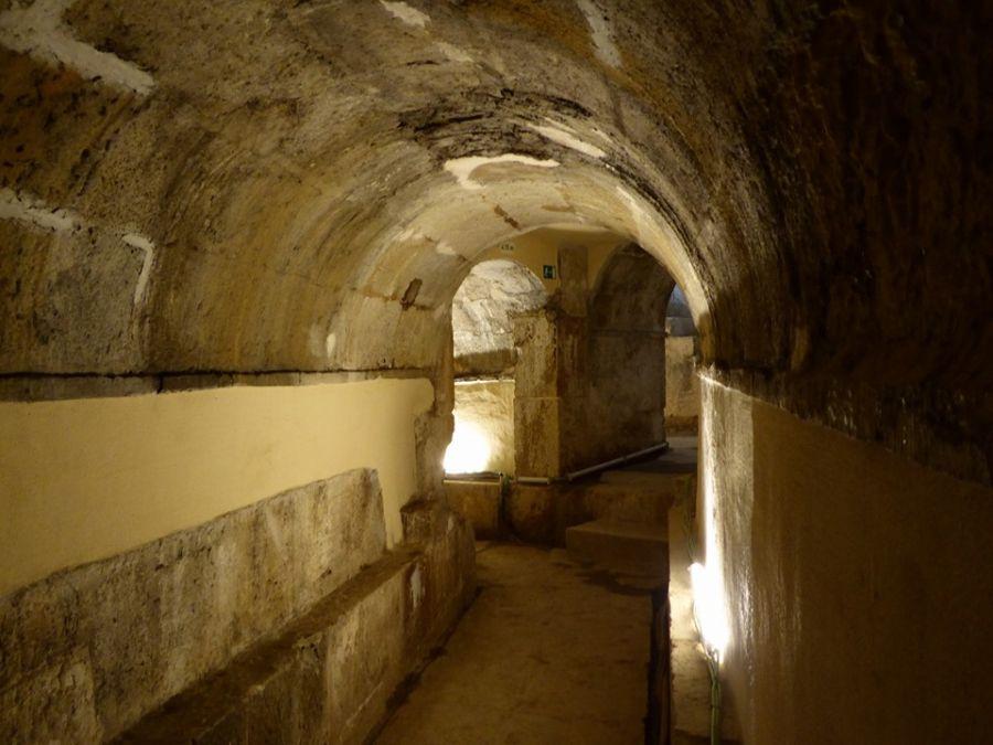 Roteiro troço subterrâneo da Galeria do Loreto – Aqueduto