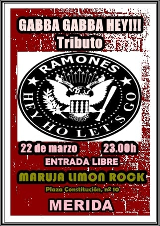 GABBA GABBA HEY || Tributo a Ramones