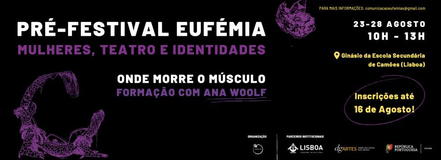 Pré-Festival Eufémia - Mulheres, Teatro e Identidades