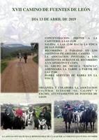 XVII CAMINO DE FUENTES DE LEÓN