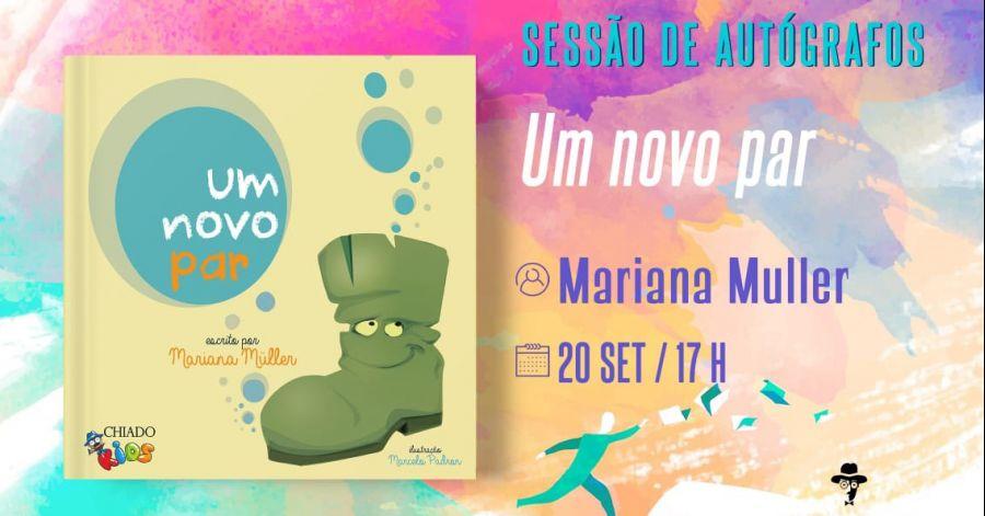 'Um novo par', na Feira do Livro do Porto | Sessão de Autógrafos