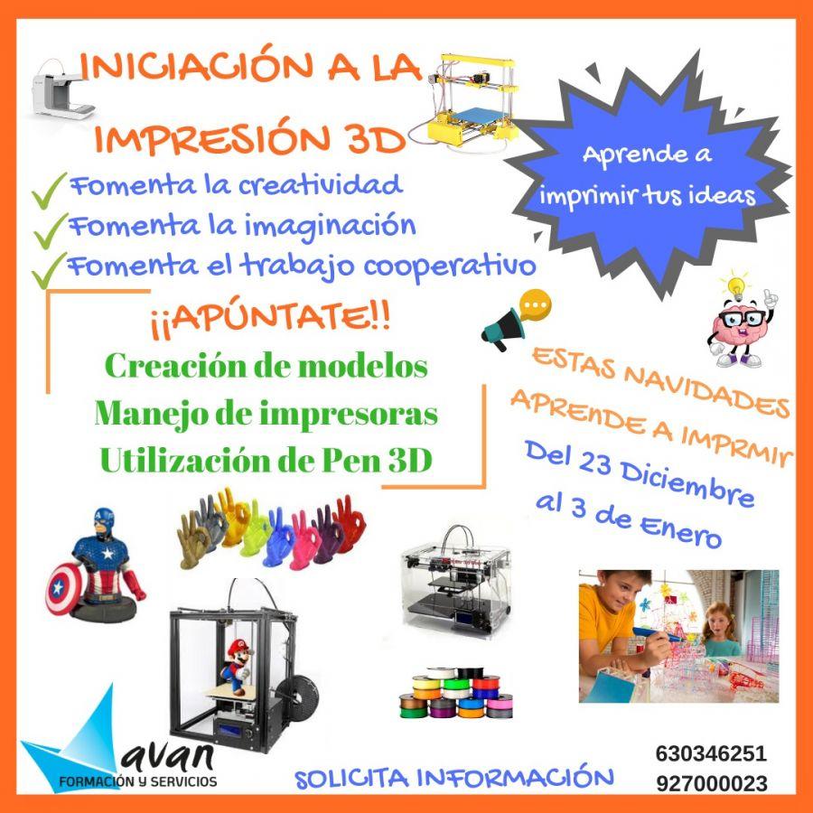 Impresión 3D para niñ@s