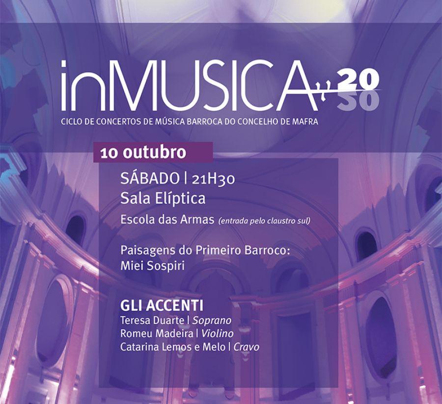 inMUSICA - Concerto Paisagens do Primeiro Barroco: Miei Sospiri