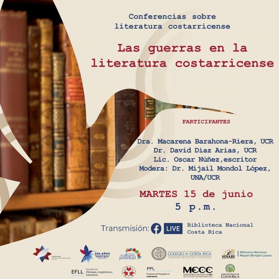 Las guerras en la literatura costarricense