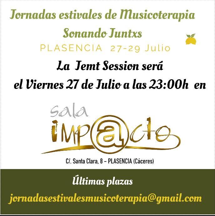 Jam Session en Sala Impacto || Jornadas Estivales de Musicoterapia Sonando Juntxs