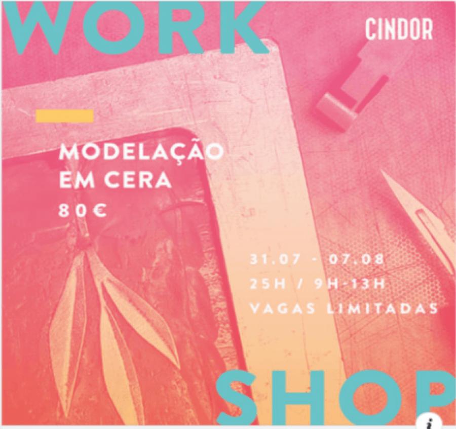 MODELAÇÃO EM CERA | WORKSHOP DE 6 DIAS