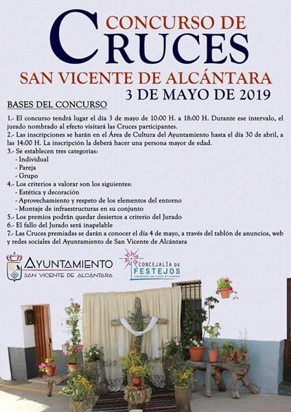 Concurso de Cruces en San Vicente de Alcántara