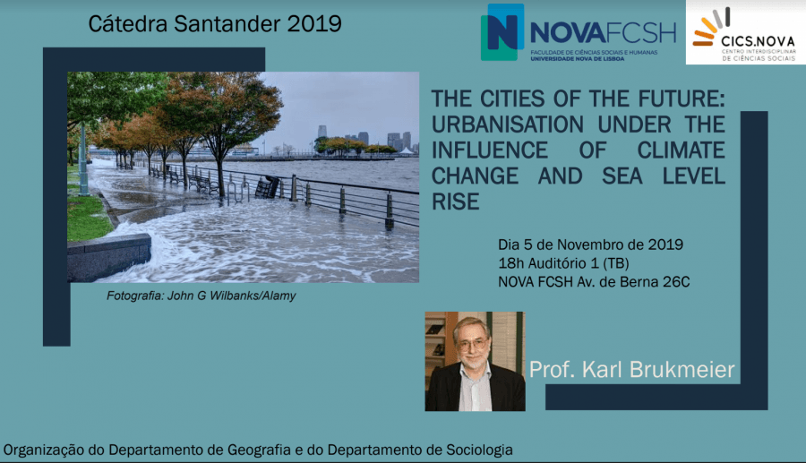 'The cities of the future: urbanisation under the influence of climate change and sea level rise'