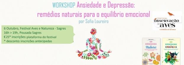 Sagres Birdwatching - Workshop Ansiedade Depressão