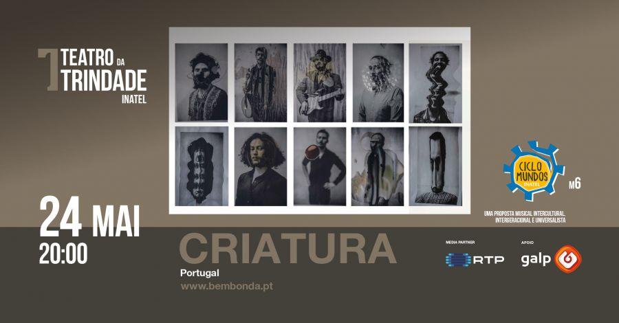 CRIATURA | Data extra | Concerto Ciclo Mundos INATEL