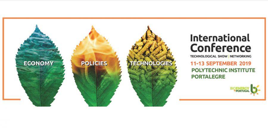 Conferencia Internacional de Bioenergía. Del 11 al 13 de septiembre. Portalegre (Portugal)