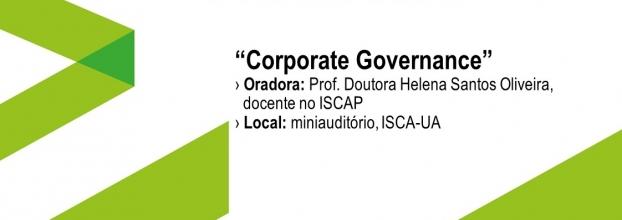 Aula aberta com o tema 'Corporate Governance'