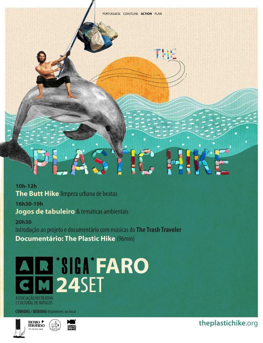 The Plastic Hike em Faro - jogos, arte e documentário